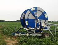 D200 - D201 Irrigator on the field