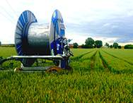 i100/i500 Irrigator on the field